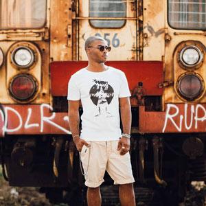 t-shirt sostenibile Drapenn