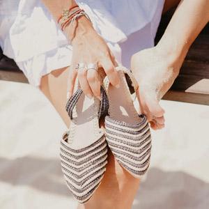 sustainable women shoes Bulibasha Bali