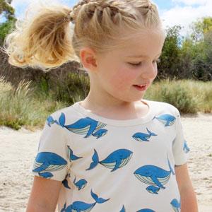 vestiti sostenibili bambino Little Emperor Australia