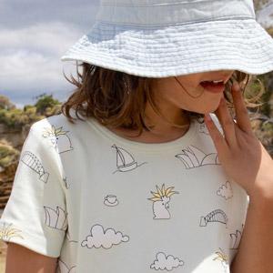 vestiti organici bimbi Little Emperor Australia