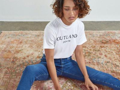 vestiti sostenibili outland denim