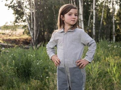 vestiti ecologici bambino Jackalo
