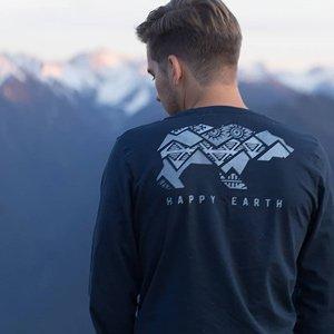 vestiti eco uomo Happy Earth USA