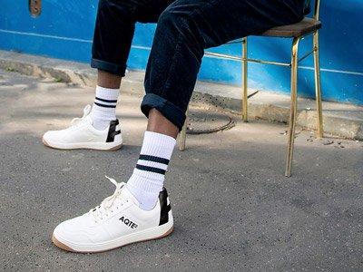 sneakers uomo ecologiche Aqte2